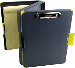 Dexas Duo Clipcase Dual Sided Storage Case and Organizer, Yellow