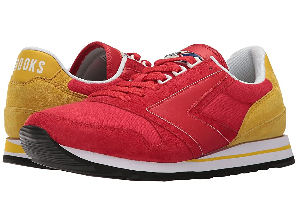 Brooks Heritage Chariot (High-Rise Red/Vibrant Yellow) Men
