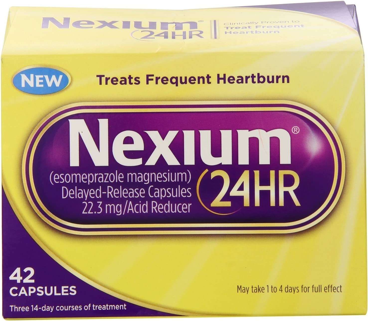 Nexium 24HR Recommended Capsules 42 Pack service 2 Count of