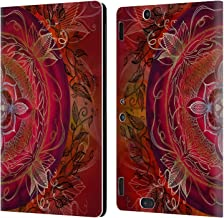 Official Brenda Erickson Root Chakras Leather Book Wallet Case Cover Compatible for Amazon Kindle Fire HDX 8.9