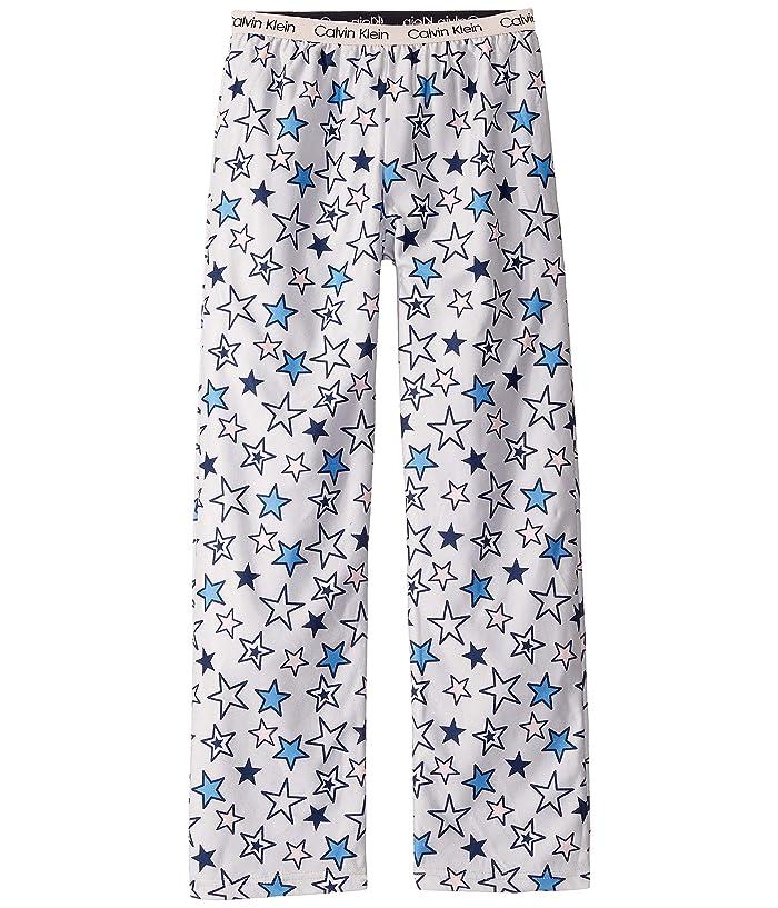 Brushed Micro Pants (Little Kids/Big Kids) (Lunar Stars) Girl's Pajama