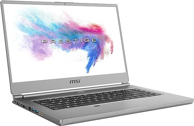 MSI P65 9SF-657 Creator  39  cm 15  Zoll True Color 4K-UHD  Laptop  Intel Core i9-9880H  32GB RAM  1TB PCIe SSD  Nvidia GeForce RTX2070  Windows 10 Pro  space-grau