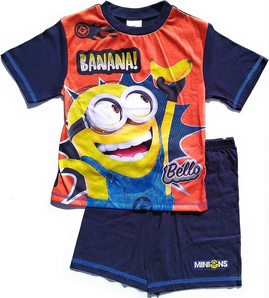 Boys Minions Short Pyjamas PJ Set