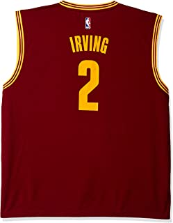 NBA Men's Cleveland Cavaliers Kyrie Irving Replica Player Road Jersey, 3X-Large, Maroon