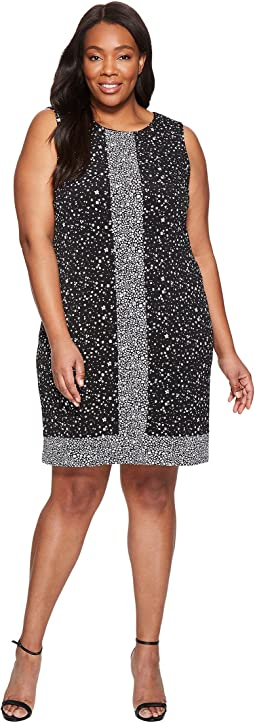 MICHAEL Michael Kors - Plus Size Nora Sleeveless Border Dress