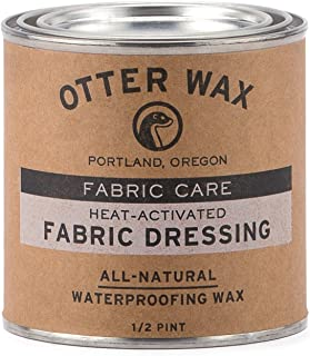Otter Wax Heat-Activated Fabric Dressing   1/2 Pint   All-Na