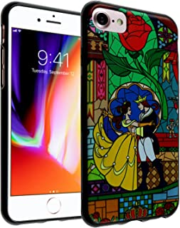 iPhone 8 Case, DURARMOR FlexArmor Beauty and the Beast Dance Flexible TPU Bumper Case Ultra Thin ScratchSafe Shock Absorption Protective Case Cover for iPhone 8 Beauty & the Beast Dance