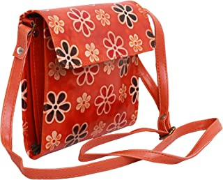 Leather Crossbody Purse for Women Small Crossover Cross Body Bag Long Over the Shoulder Sling Womens Purses and Handbags
