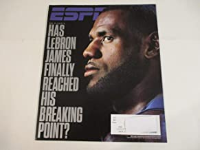 MAY 8, 2017 ESPN MAGAZINE FEATURING LEBRON JAMES* *HAS JAMES FINALLY REACHED HIS BREAKING POINT? *NBA PLAYOFFS*