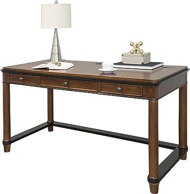 Martin Furniture Kensington Laptop Writing Desk, Brown