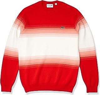 Lacoste Men's Long Sleeve Ombre Interlock Sweater