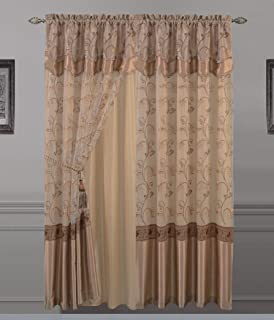 Best luxury curtains with valance Reviews