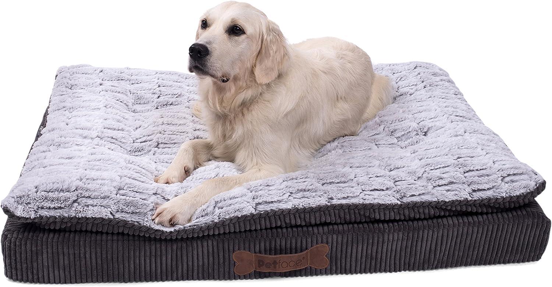 Amazon Com Petface Ultimate Luxury Memory Foam Bed Large Pet Supplies