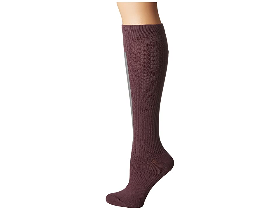 Nike High Intensity Over the Calf Training Socks (Purple Shade/Metallic Silver/Bleached Lilac) Women