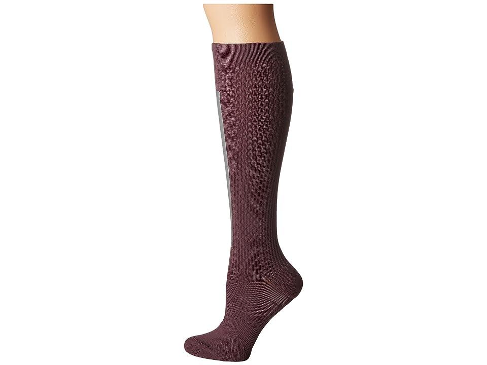 Nike High Intensity Over the Calf Training Socks (Purple Shade/Metallic Silver/Bleached Lilac) Women