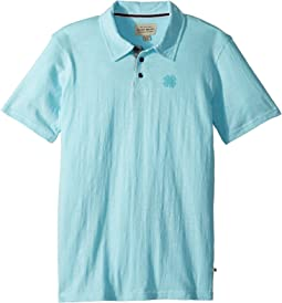 Short Sleeve Washed Polo (Big Kids)