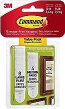 Command 17209 Fotomontagestrips, Ophangen Zonder Fotohaken, Zonder Lijmresten Te Verwijderen, Multi Pack (4 x 2 Strips Maa...