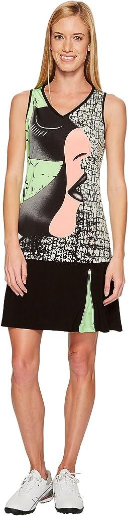 Jamie Sadock - Facetime Print Dress