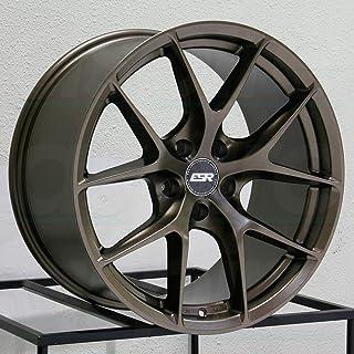 "RF02 RF2 19x8.5/19x9.5 5x120 30/35 Bronze Wheels(4) 19"" inch Staggered Rims"
