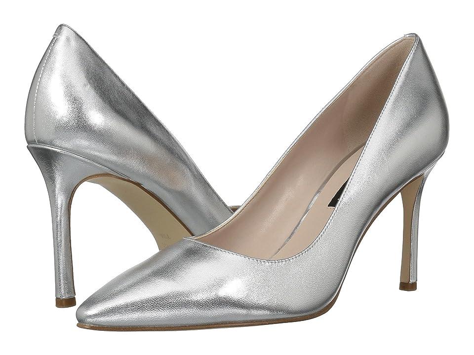 Nine West Emmala Pump (Silver Metallic) Women