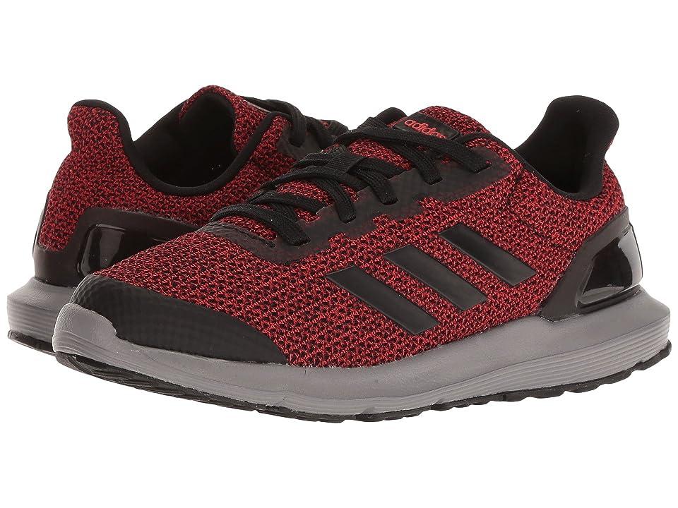 adidas Kids Cosmic 2 SL (Little Kid/Big Kid) (Red/Black/Grey) Boys Shoes