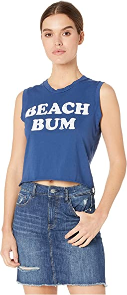 Sleeves Crop Beach Bum Tee