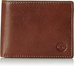 Timberland Men's Genuine Leather Commuter Bifold Wallet