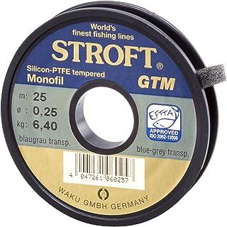 STROFT GTM Fliegenvorfach Groß 375 cm 12 ft 0.10 bis 0.42 mm Blaugrau transp.