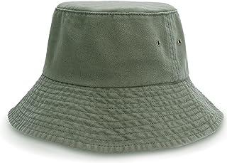 قبعة دلو للنساء والرجال 100% قطن مغسول قبعة شمس الصيف الصيد في الهواء الطلق قبعة