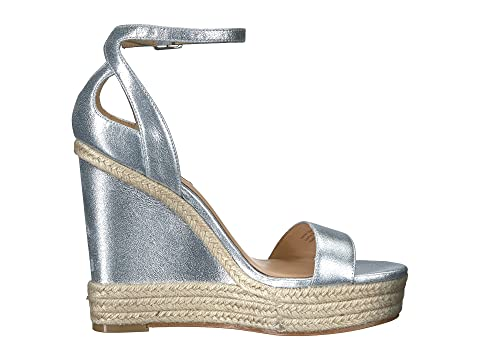 Badgley Mischka Metallic Honest Suede Silver rgrqxYwUA
