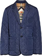 BURBERRY Clifton Diamond Quilted Thermoregulated Jacket in Bright Navy