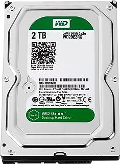 WD - Disco duro SATA para ordenador de sobremesa, color verde verde Verde 3,5