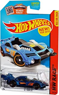 Hot Wheels, 2015 HW Race, GT Hunter [Black/Blue] Die-Cast Vehicle #130/250