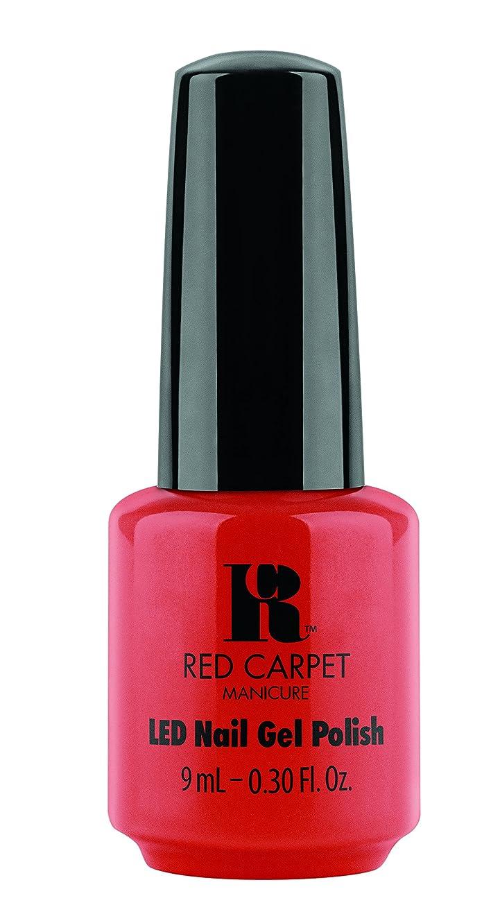 鉄コンデンサーシーボードRed Carpet Manicure Gel Polish, Ooo La Liscious, 0.3 Fluid Ounce by Red Carpet