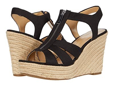 MICHAEL Michael Kors Berkley Wedge (Black) Women