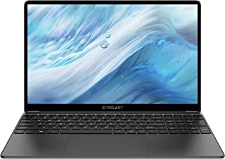 Ordinateur Portable 15,6 Pouces, TECLAST F15S Ultrabook 6Go RAM 128Go ROM Windows 10 PC Portable, Intel J3455 Quad-Core Processeur, 1920X1080FHD, 38000mWh, 2.4G/5G WiFi, USB 3.0*2, Mini HDMI.