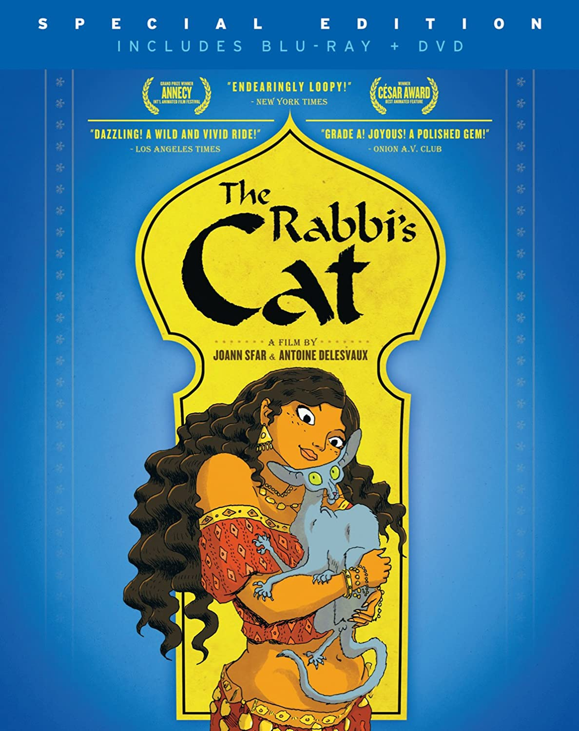 The Rabbi's Cat Blu-ray Pack and Complete Free Shipping outlet Combo DVD