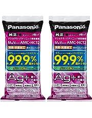 【まとめ買いセット】パナソニック 交換用逃がさんパック 消臭・抗菌加工 M型Vタイプ 6枚入り AMC-HAC12【フラストレーションフリーパッケージ(FFP)】