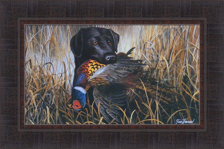Excellence Bird Season by Jim Hansel 15x23 Labrador Black Lab Pheasant Las Vegas Mall Hunt