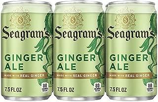 Seagram's Ginger Ale, 7.5 Fluid Ounce