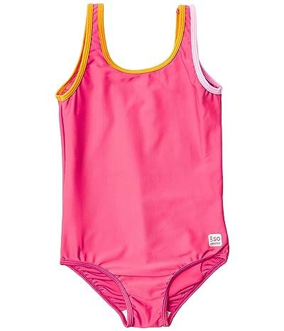 reima Swimsuit Tenerife (Toddler/Little Kids/Big Kids) (Berry Pink) Girl