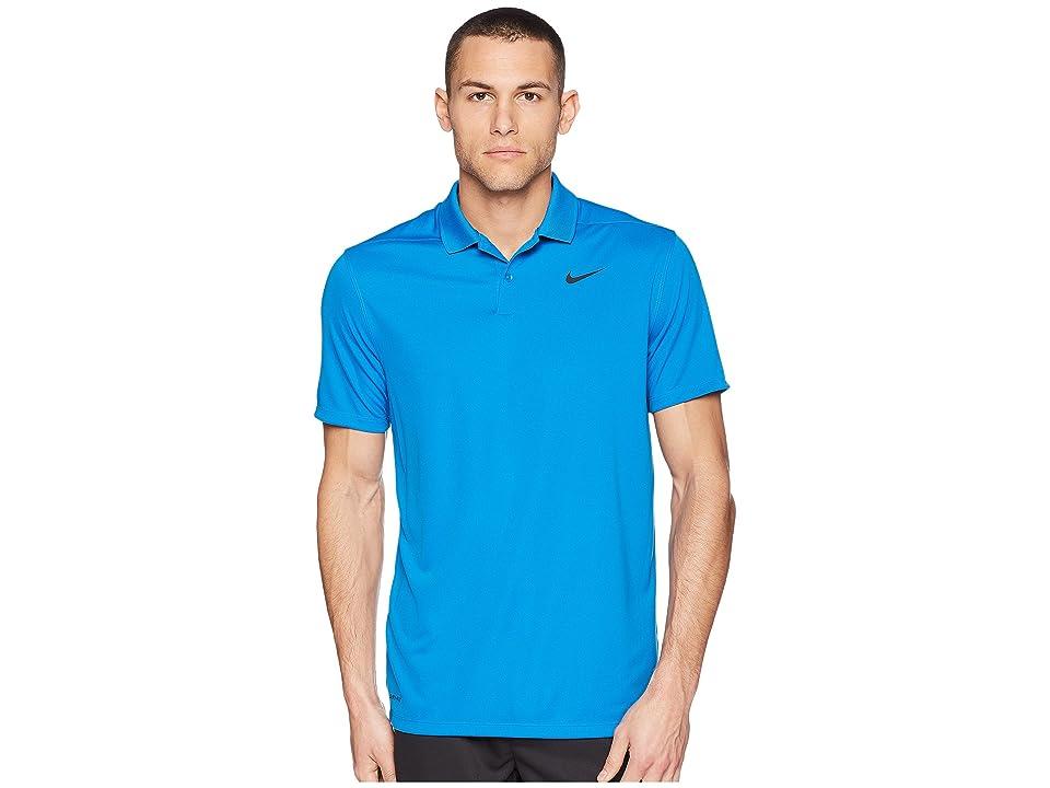 Nike Golf Dri-FITtm Victory Polo (Blue Nebula/Black) Men