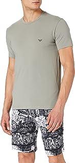 Emporio Armani Men's Underwear Pyjamas Graphic Art Pajama Set