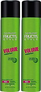 Garnier Hair Care Fructis Style Volume Anti-Humidity Hairspray, 2 Count