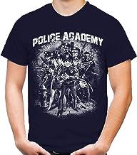 Police Academy Männer und Herren T-Shirt | Film Fun ||| M2