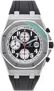Audemars Piguet Royal Oak Offshore Mechanical (Automatic) Black Dial Mens Watch 26184ST.00.D003CU.01 (Certified Pre-Owned)