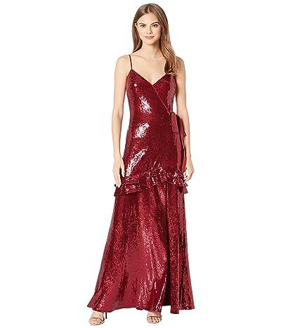 Rachel Zoe Walker Dress (Merlot) Women