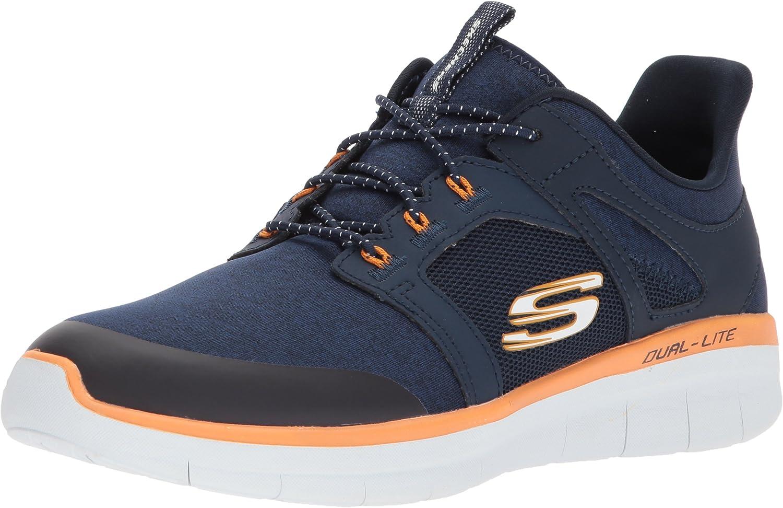 Skechers Mens Synergy 2.0 Chekwa Fashion Sneaker