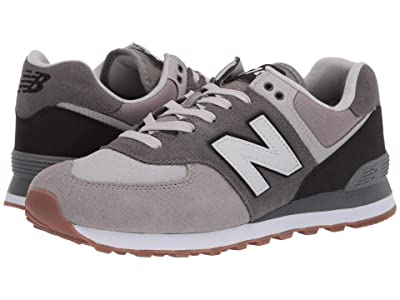 New Balance Classics 574v2-USA (Marblehead/Black) Men