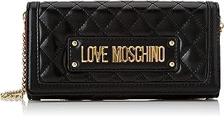 1b98b84b94 Love Moschino Quilted Nappa Pu Portafoglio Donna, 15x10x15 cm (W x H x L